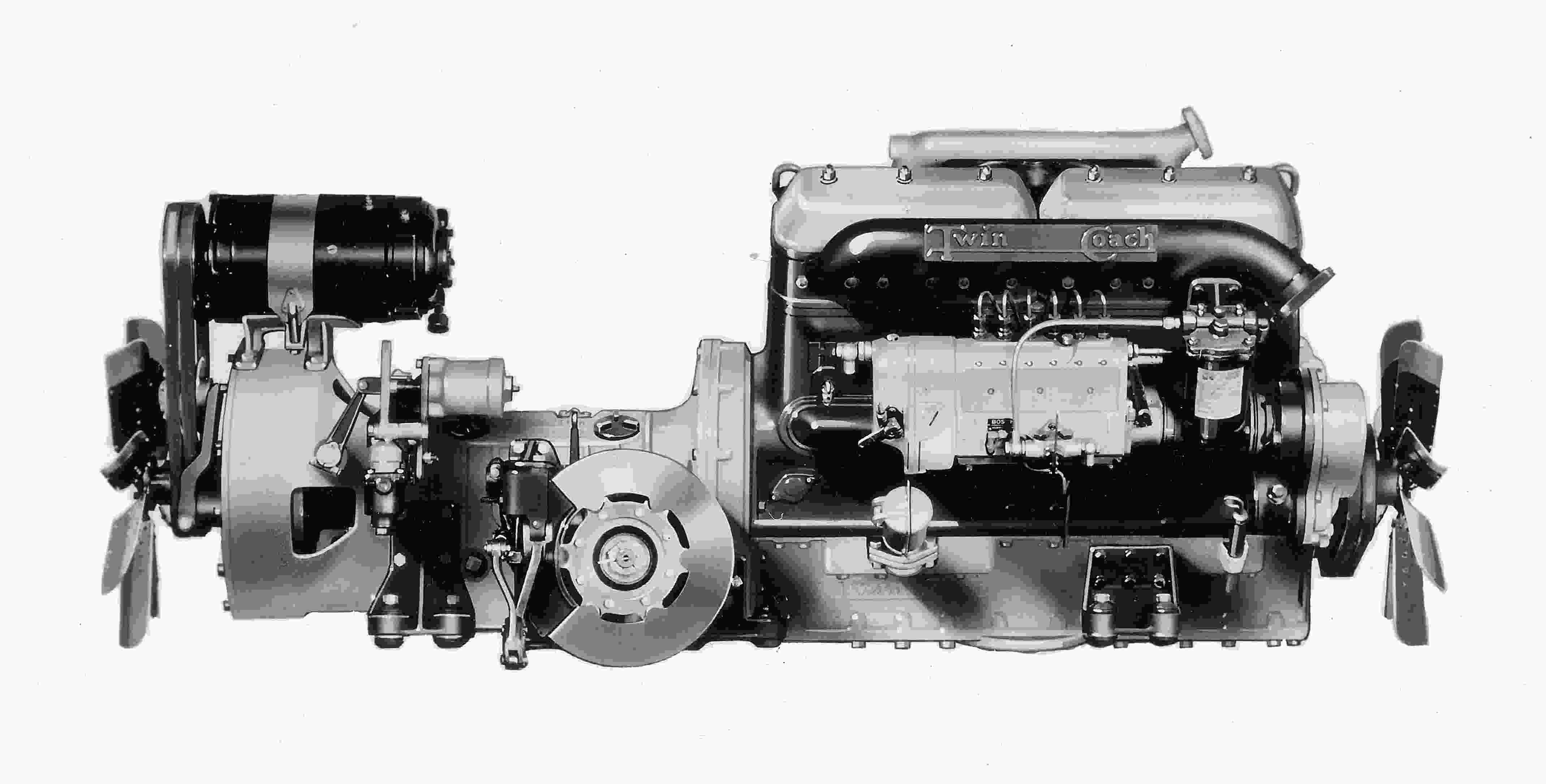 Buses Charging Circuit Diagram For The 1947 Studebaker All Models 1935 Twin Coach Diesel Engine By Hercules